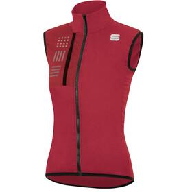 Sportful Giara Layer Chaleco Mujer, rojo